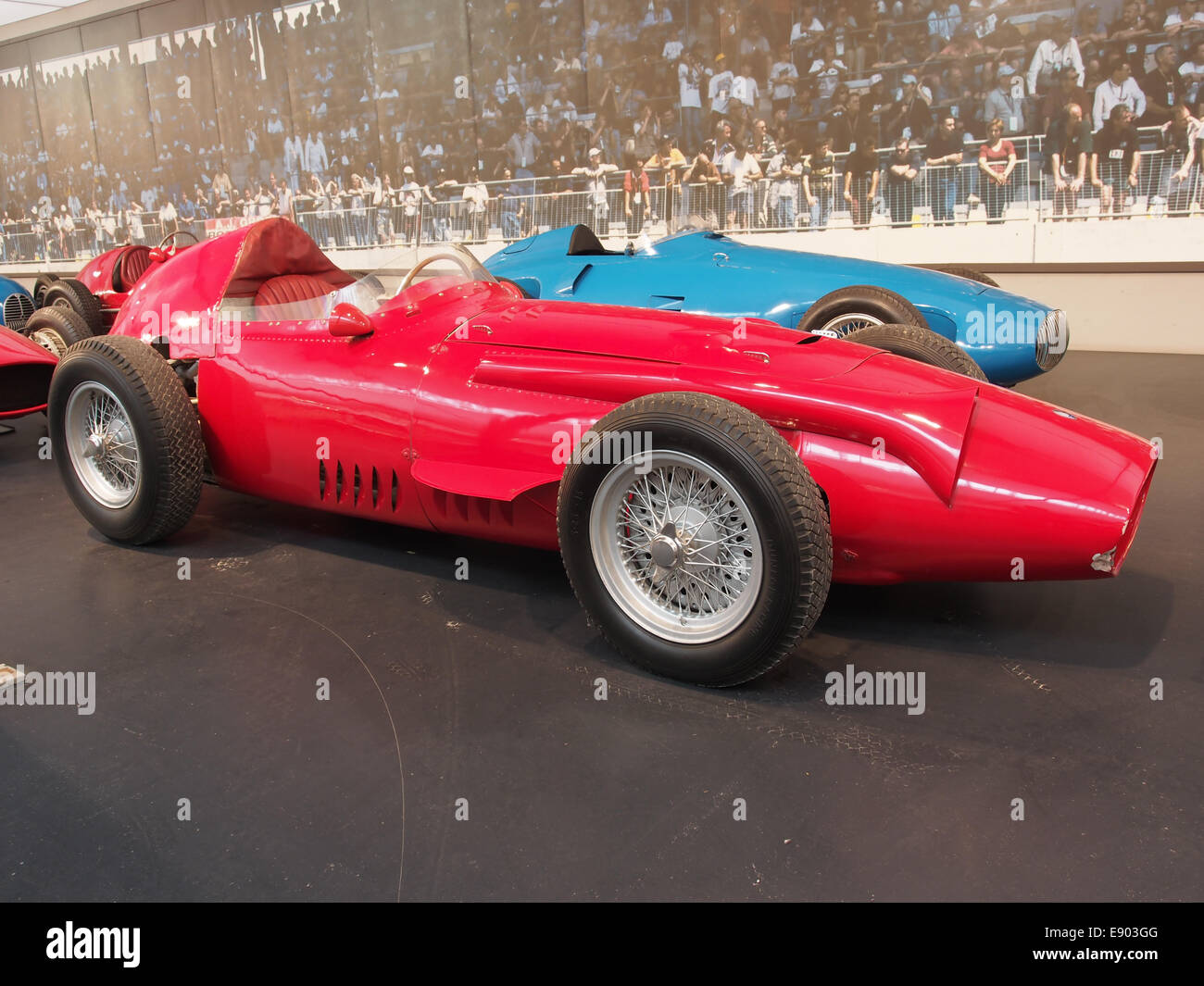 1958 Maserati GP 250, 6 cylinder, 290hp, 2494cm3, 280kmh, photo 2 - Stock Image