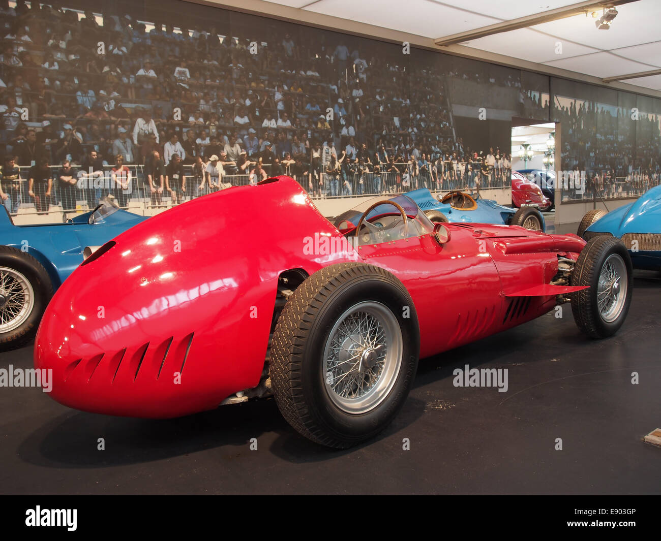 1958 Maserati GP 250, 6 cylinder, 290hp, 2494cm3, 280kmh, photo 3 - Stock Image