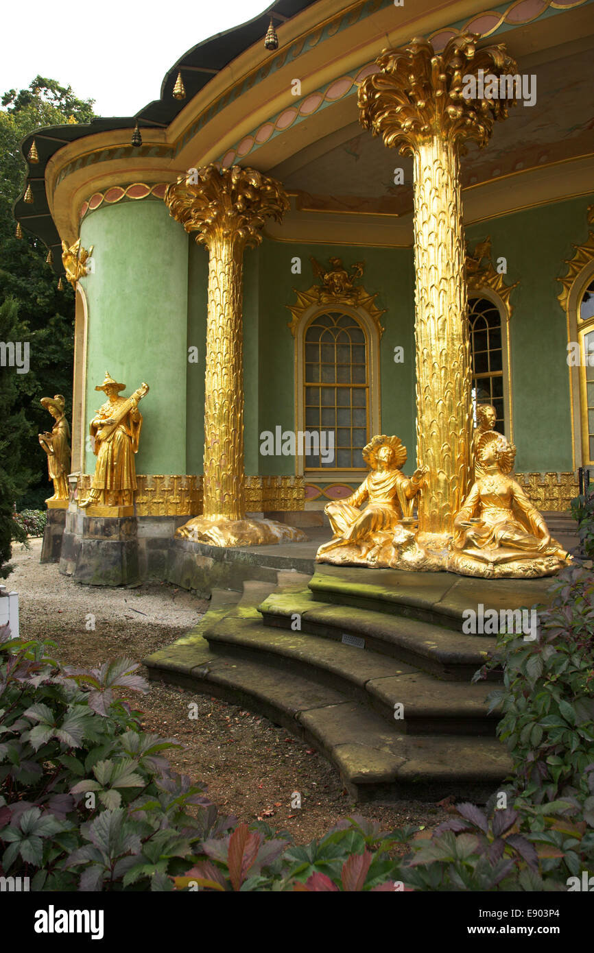 Chinessisches Haus, Potsdam - Stock Image