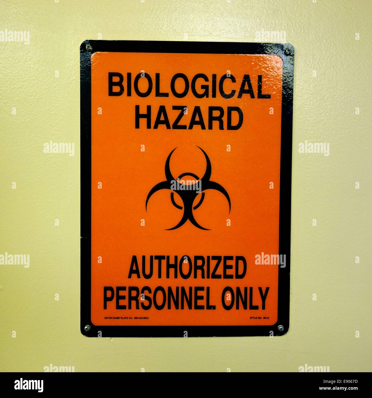 biological hazard sign stock photo 74378289 alamy