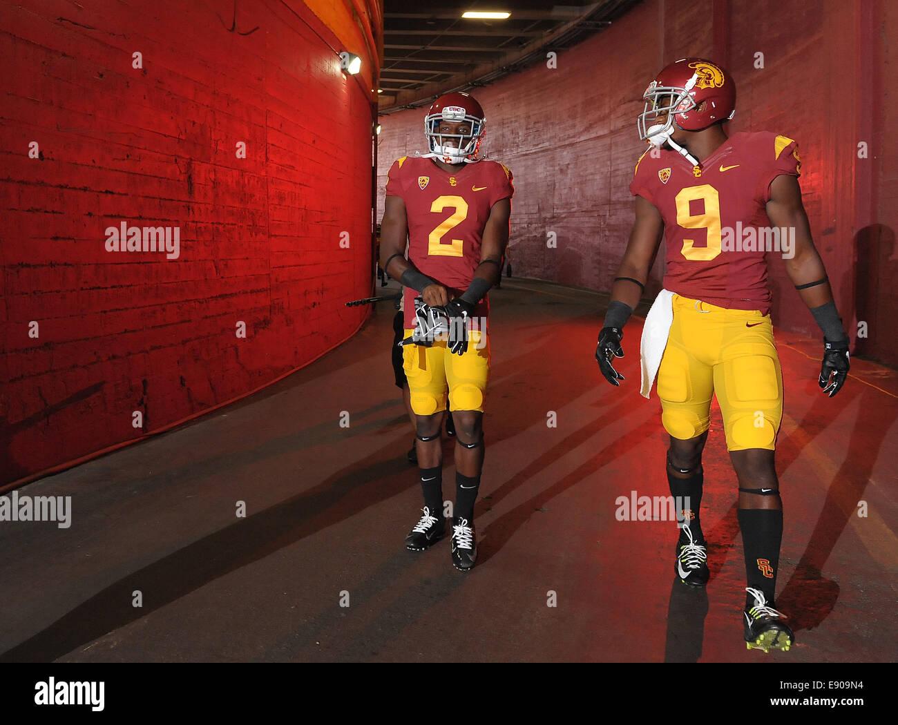 newest 9256e 4fc68 August 30, 2014, Los Angeles, CA...USC Trojans wide receiver ...