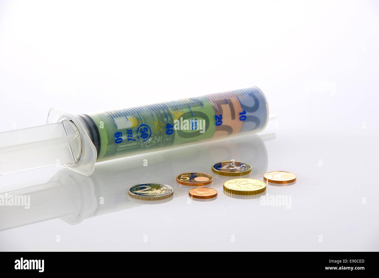 Symboldbild health care costs Stock Photo