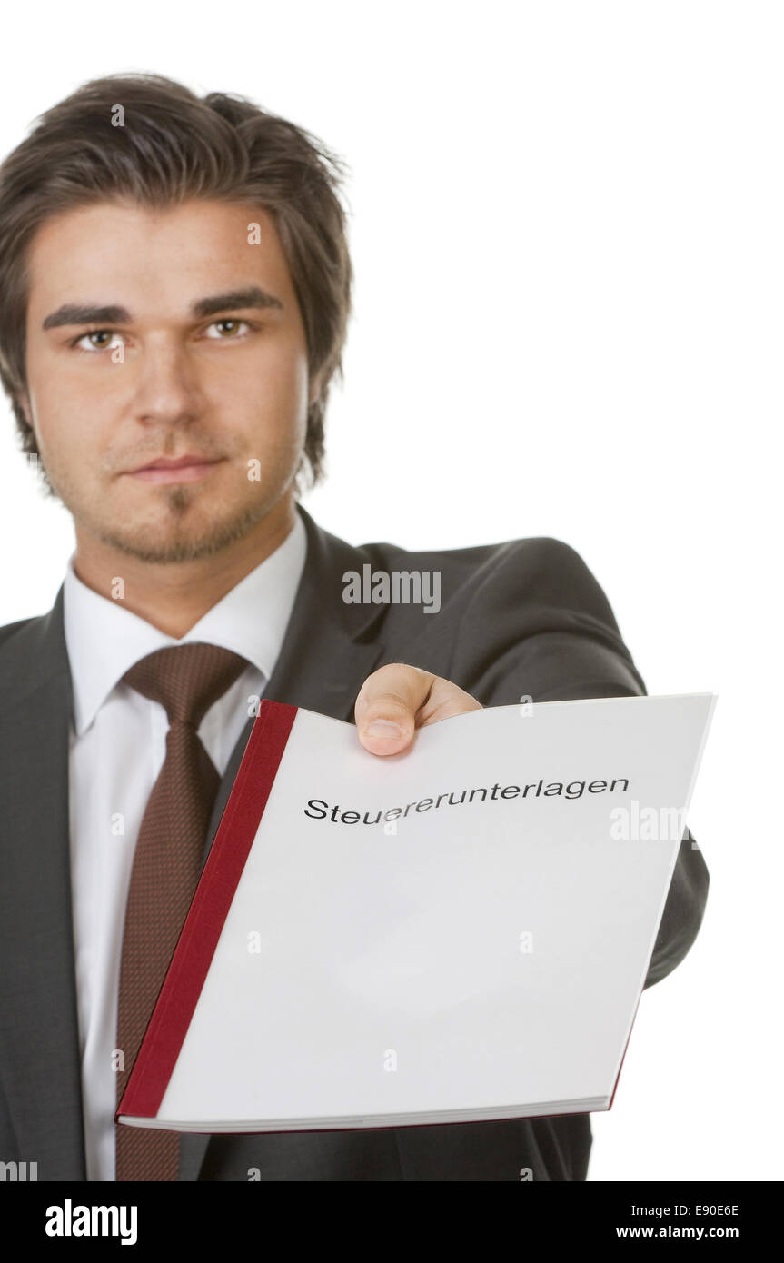 Documents for Accountants - Stock Image