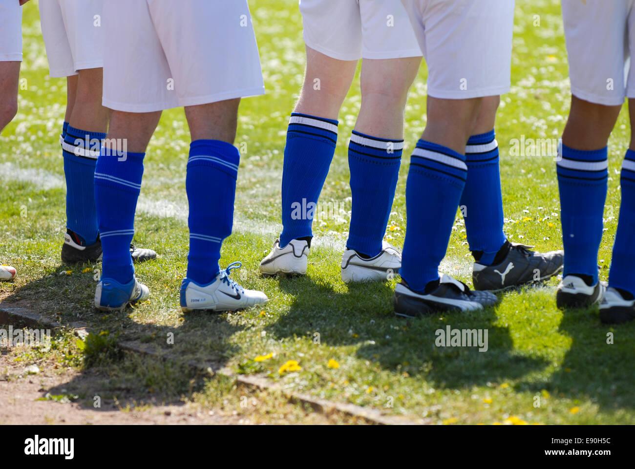 Football Players - Stock Image