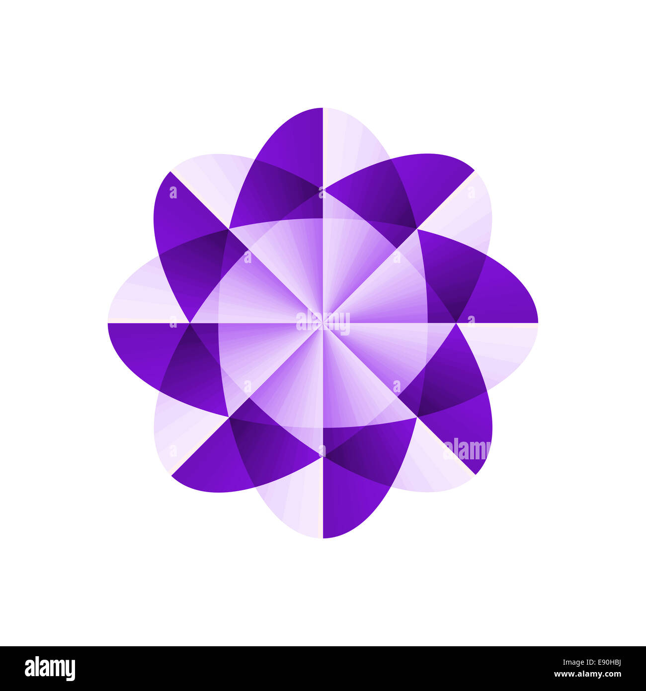 Abstract shape - Stock Image