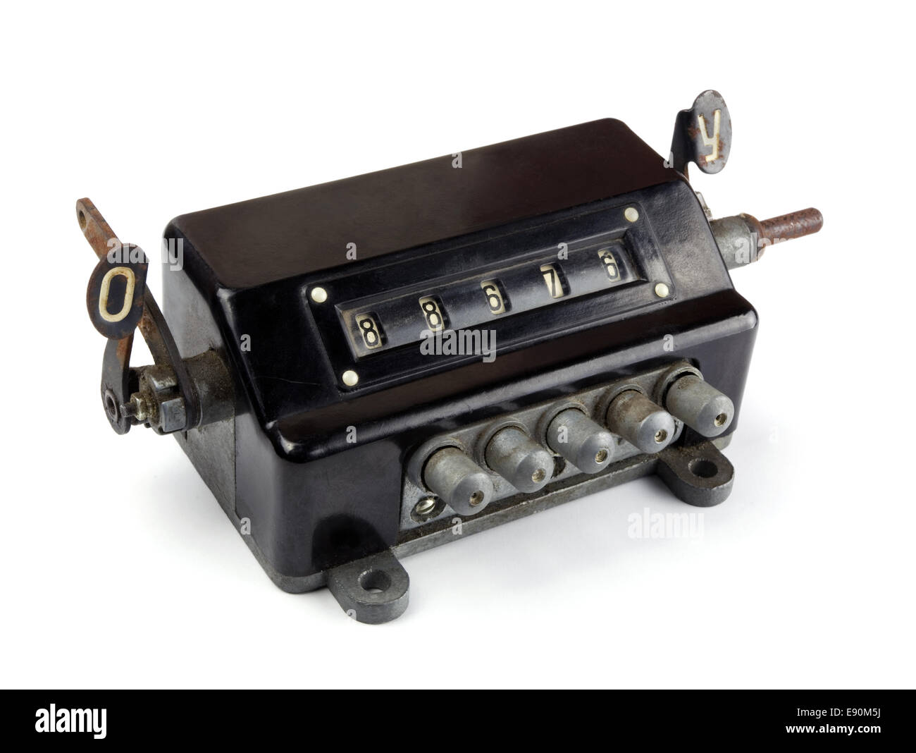 Old appliance - Stock Image