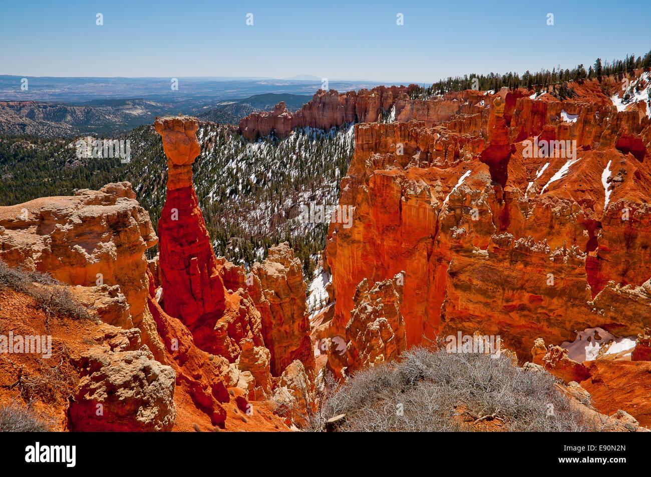 Bryce Nationalpark - Stock Image