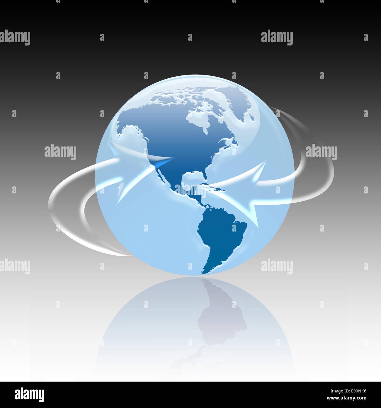 Globus Stock Photo