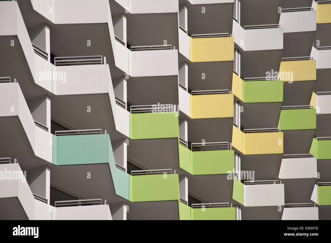 high riser - Stock Image