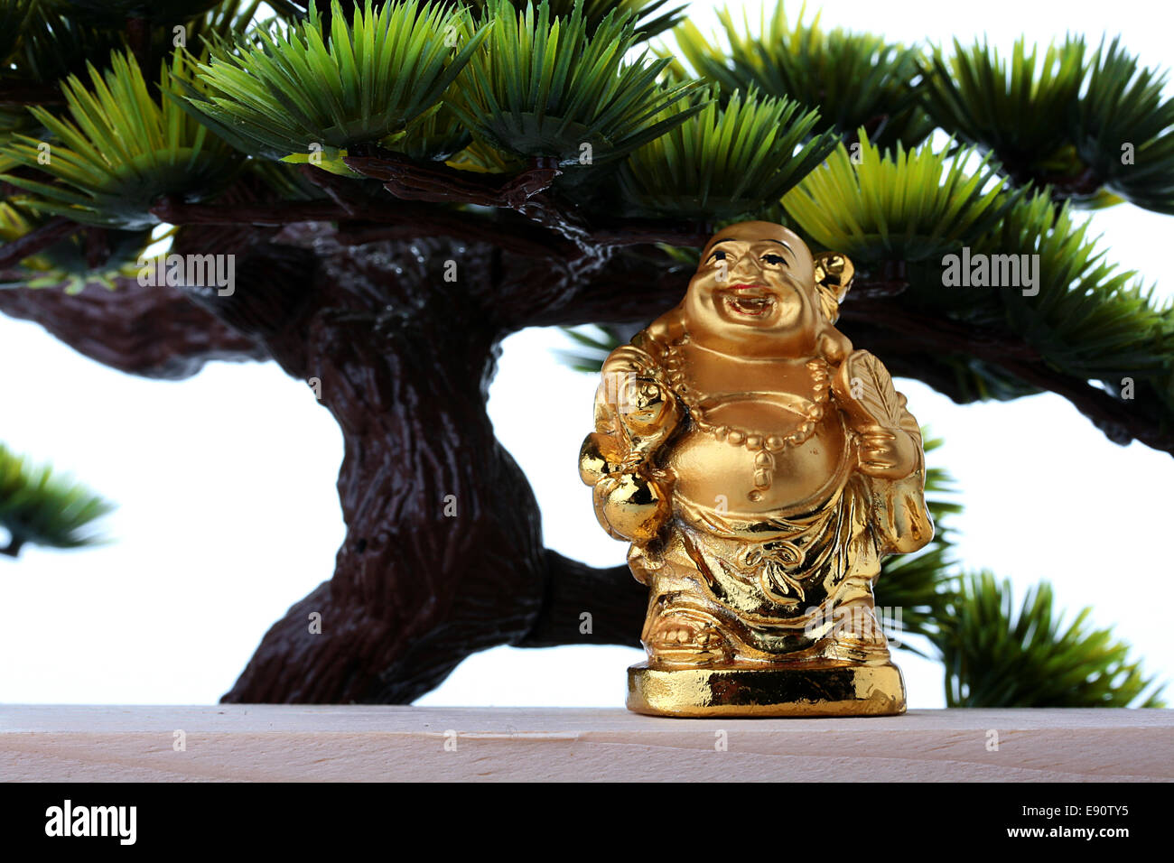 God of riches - Stock Image