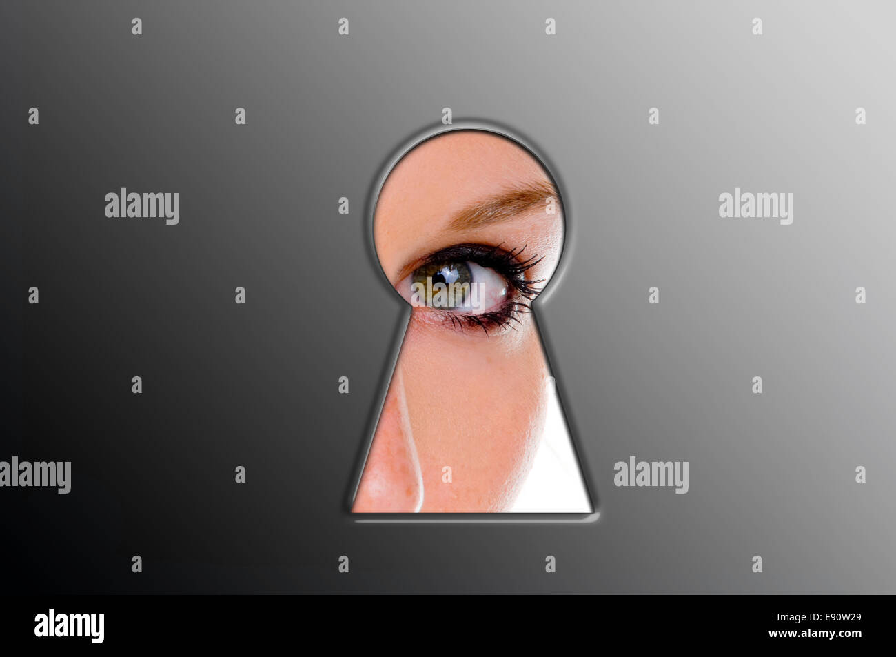 Spy - Stock Image