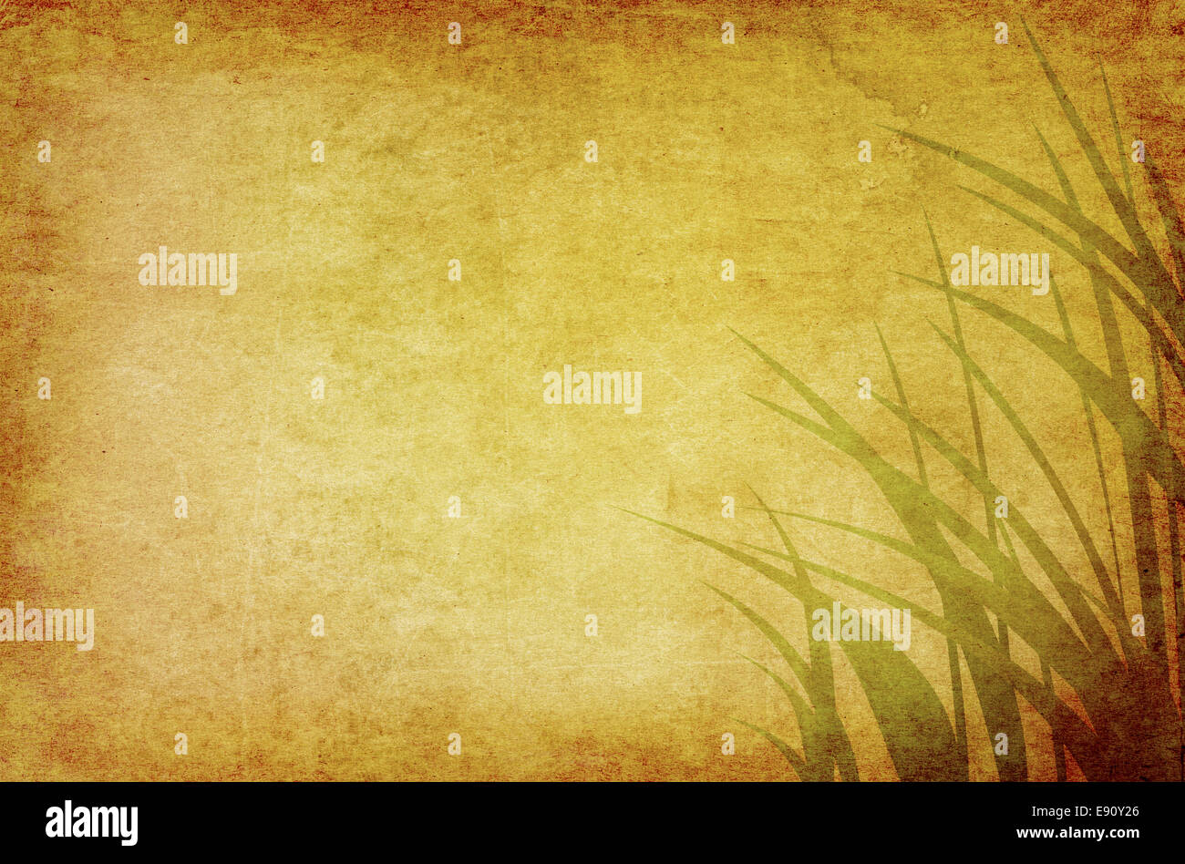 ambient grass graphics - Stock Image