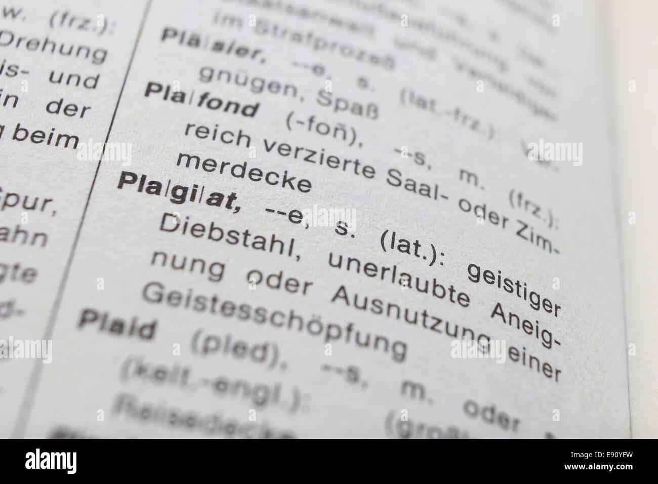 Plagiarism - Stock Image