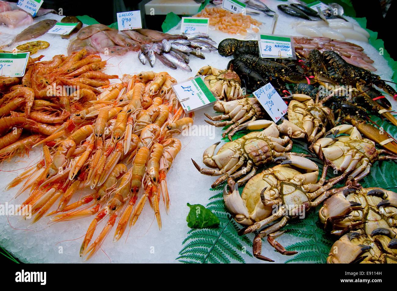 Seafood - Stock Image