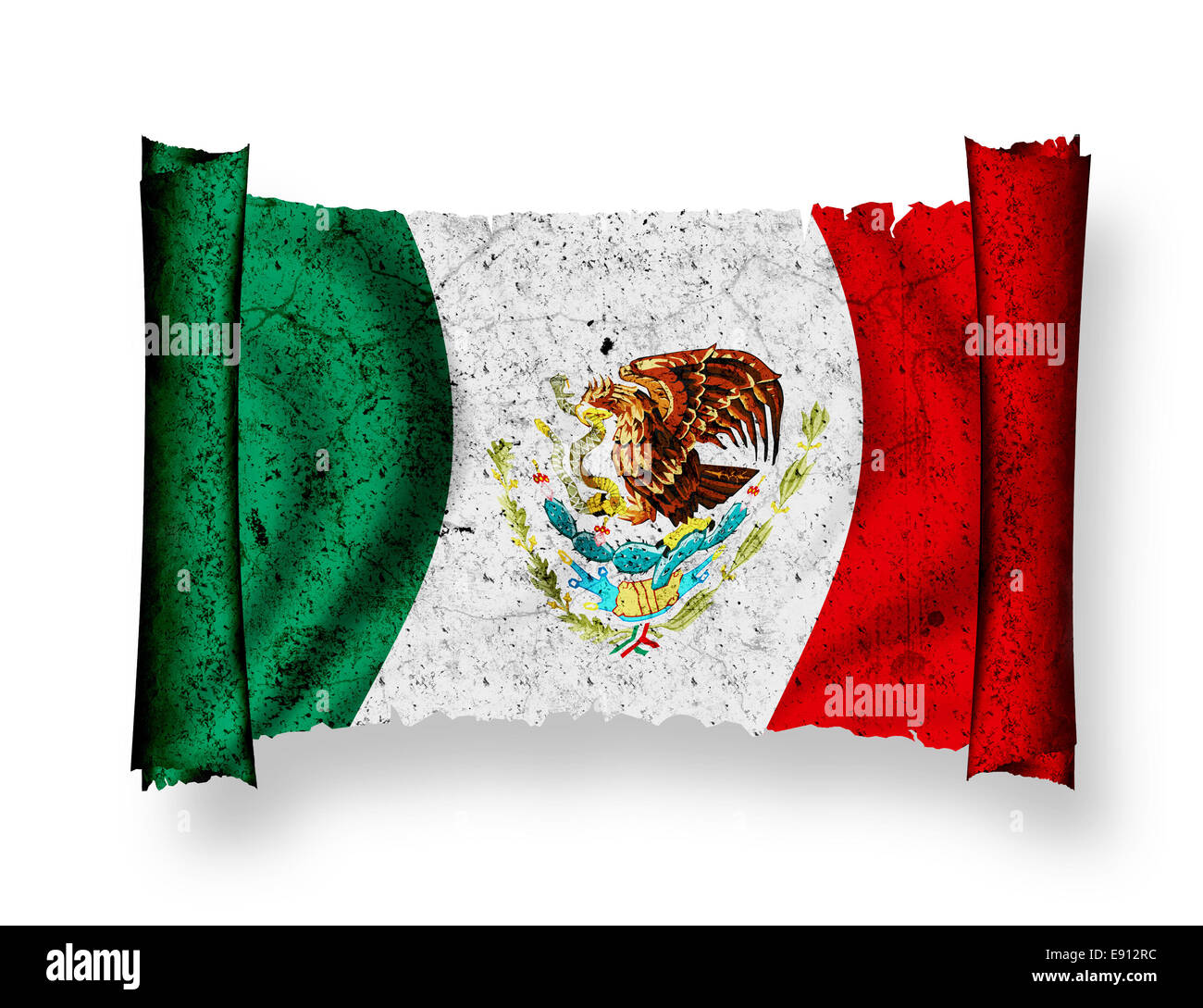 Flag of Mexico - Stock Image