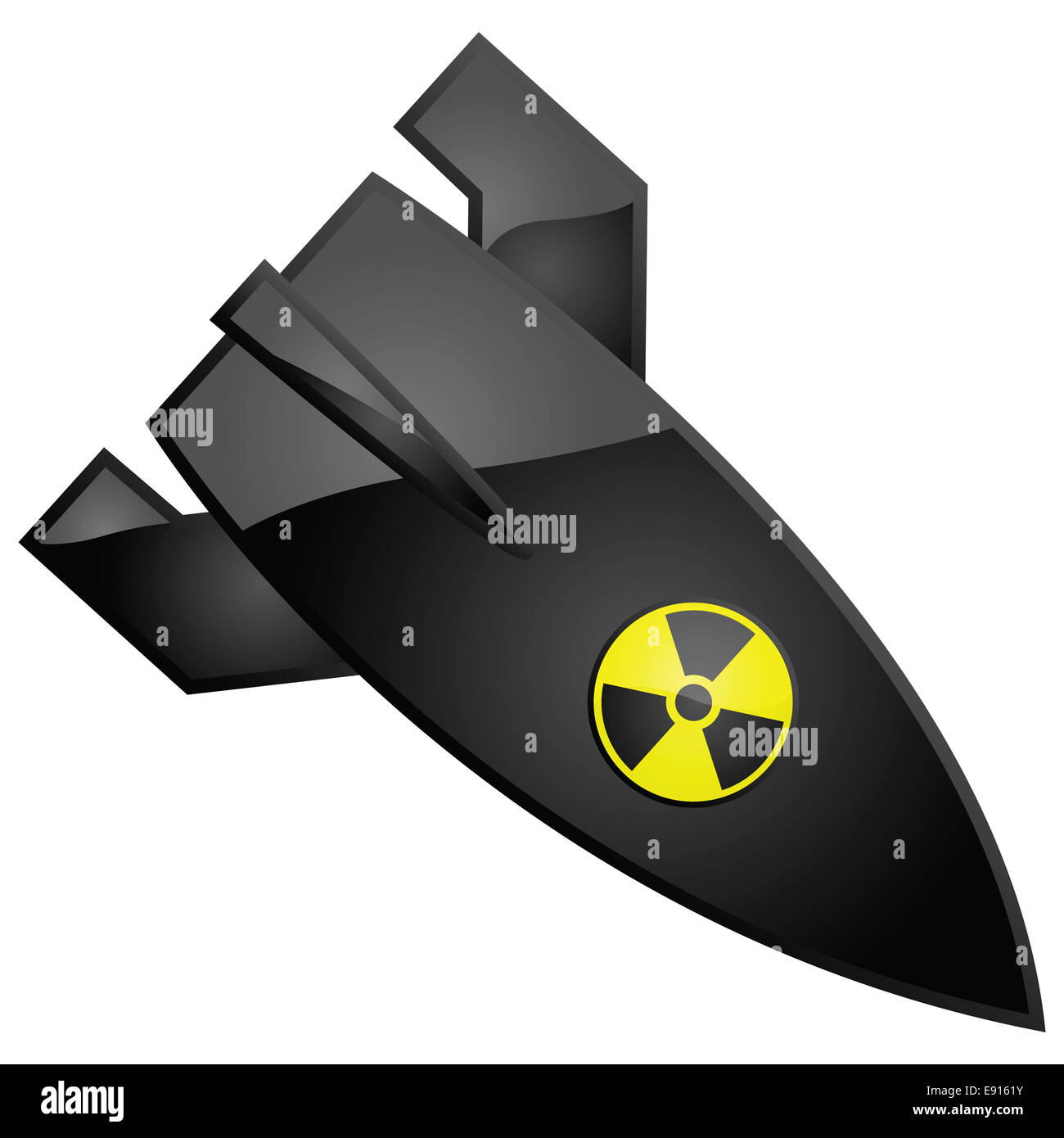Nuclear bomb - Stock Image