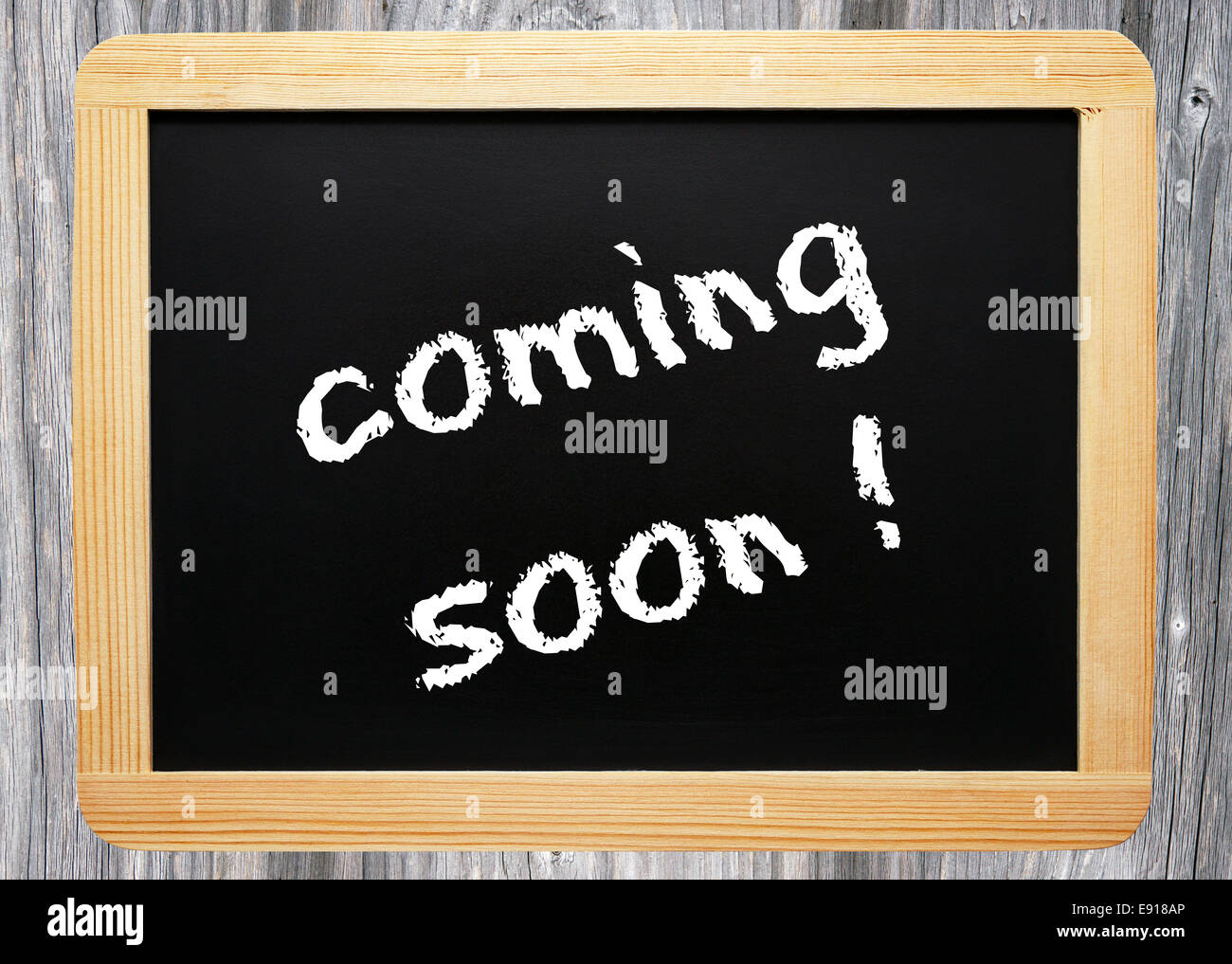 coming soon ! - Business Concept Stock Photo