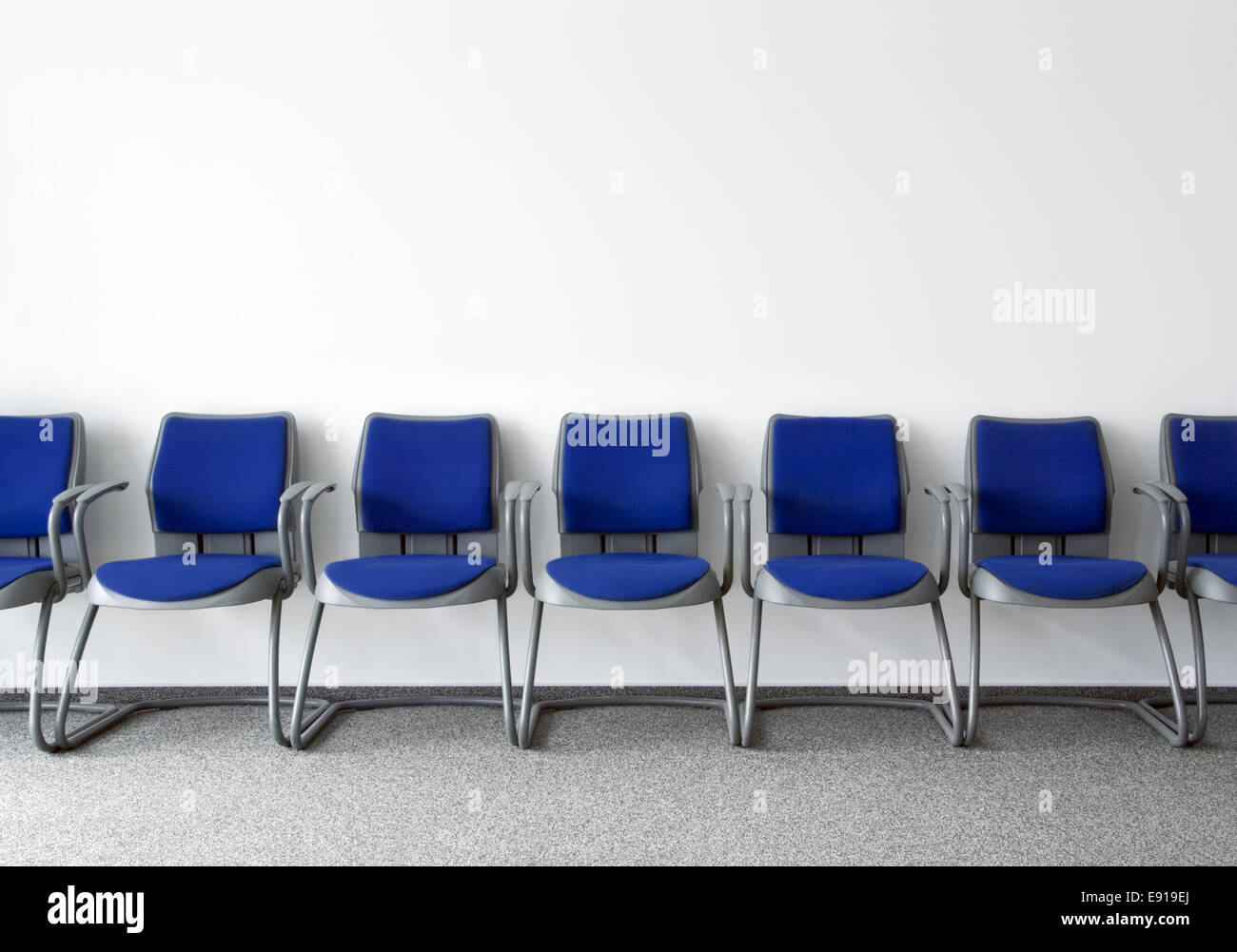 Ordinary waiting room - Stock Image
