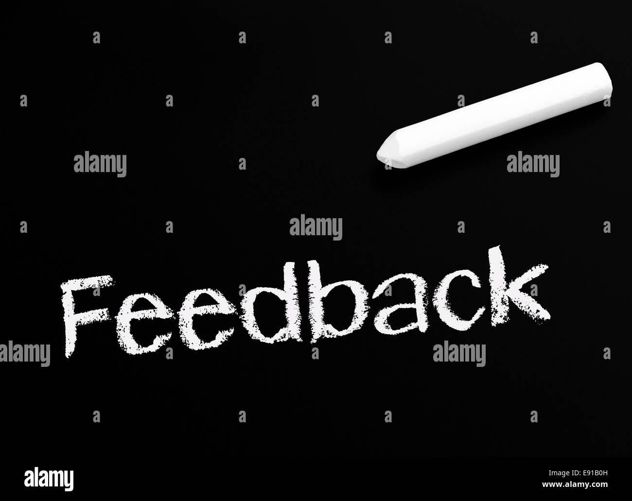 Feedback - Business Concept Stock Photo