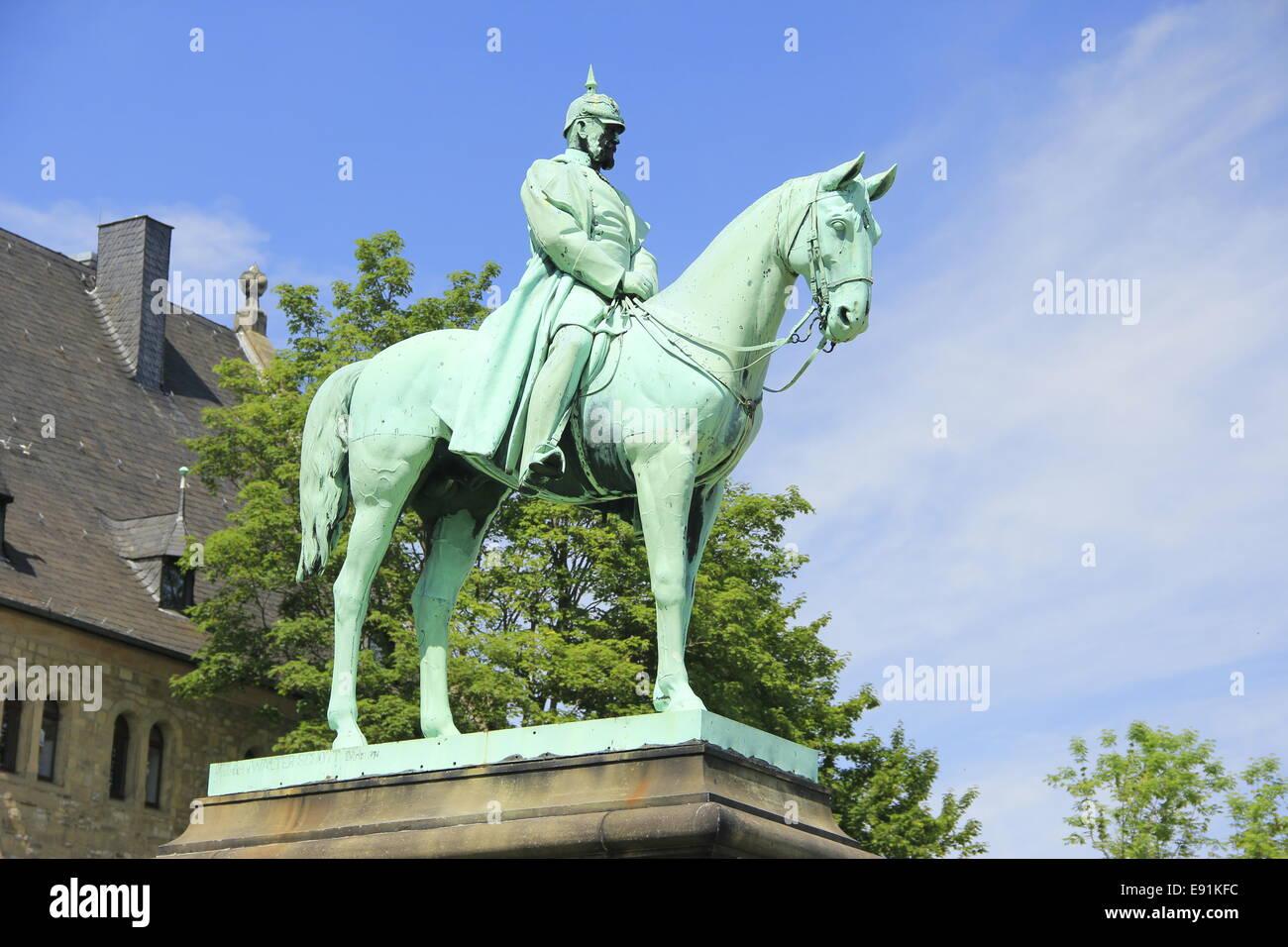 Emperor Wilhelm I - Stock Image
