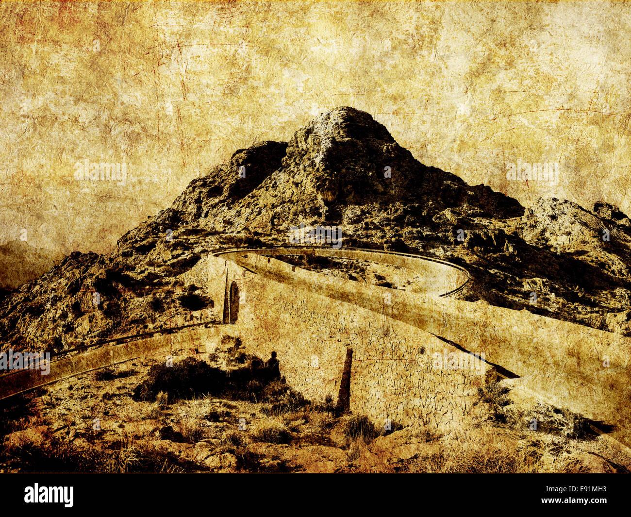 Sa Colobra, Majorca - Stock Image