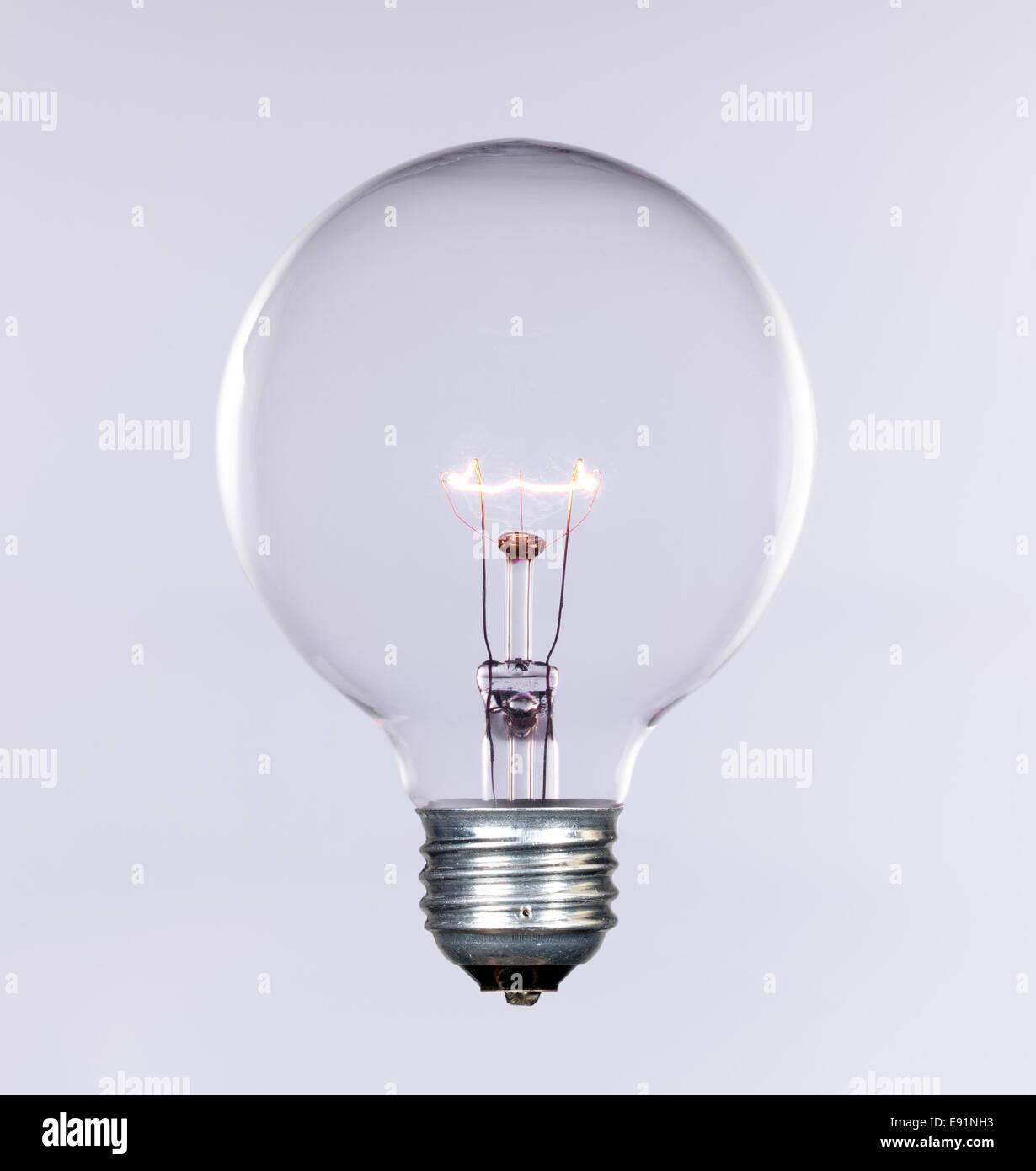 Incandescent lightbulb - Stock Image