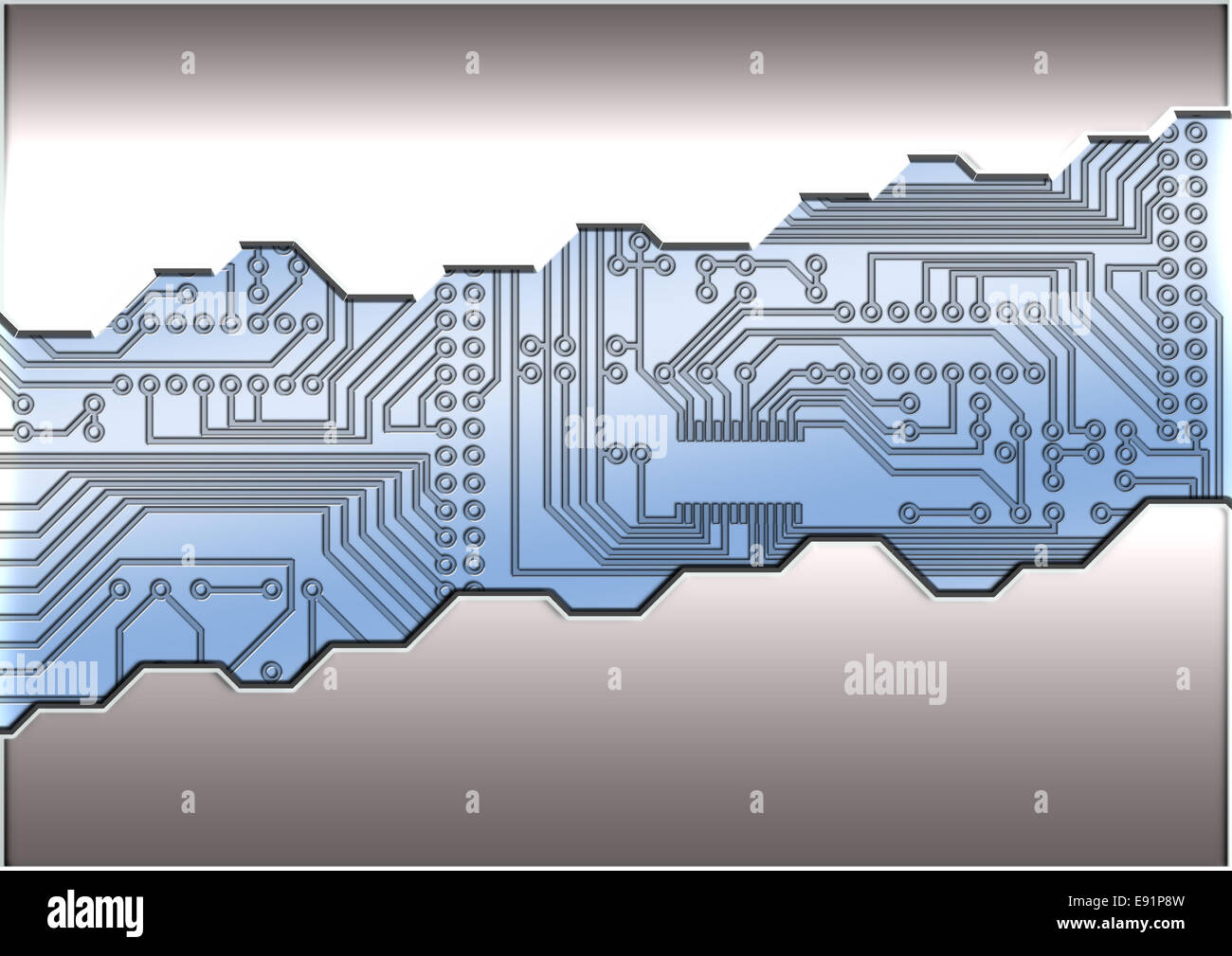 Steel Stencil Stock Photos Images Alamy Circuit Board Letters Vector Colourbox Background Image