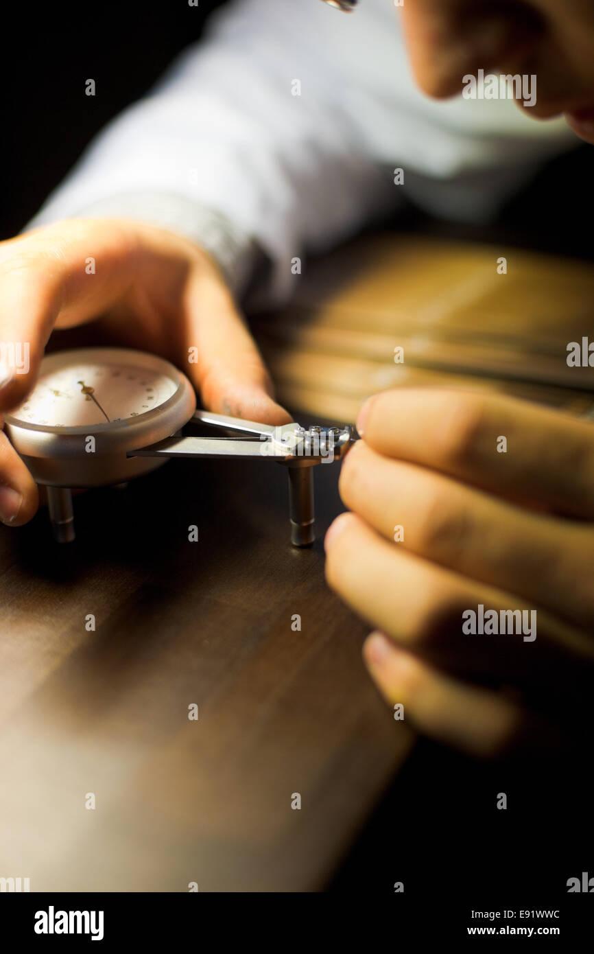 Watchmaking Measurement Gauge - Stock Image