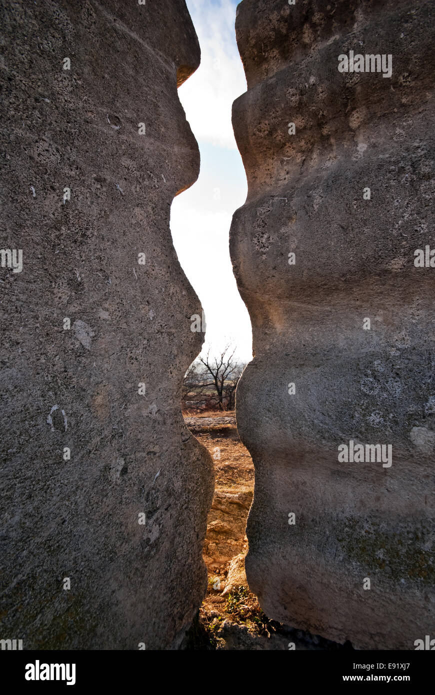 stone plastics - Stock Image