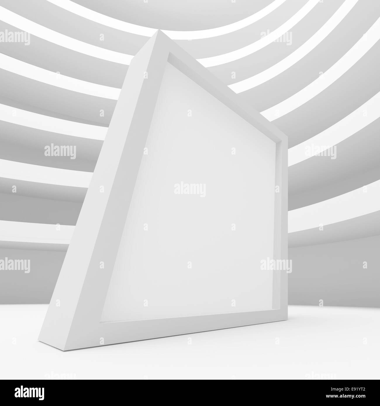 Abstract Architecture Construction - Stock Image