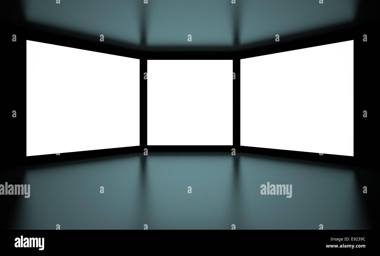 Screens - Stock Image