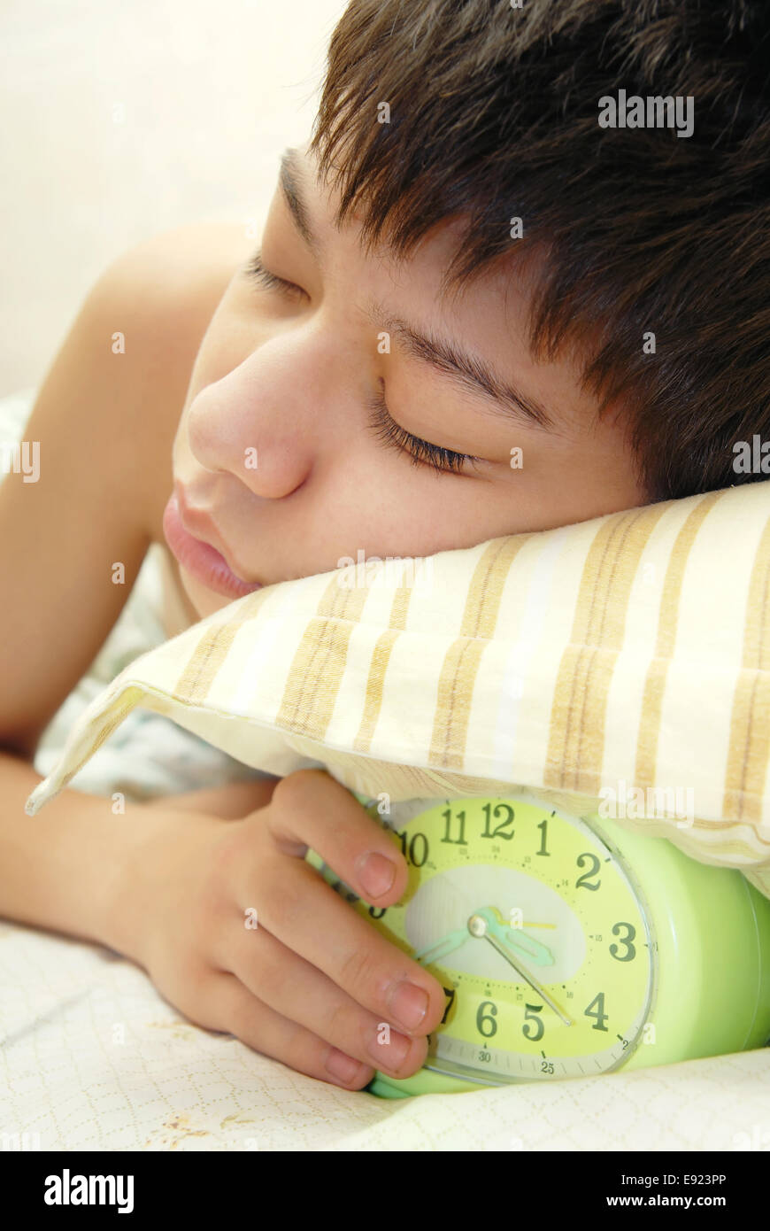 Deep sleep - Stock Image