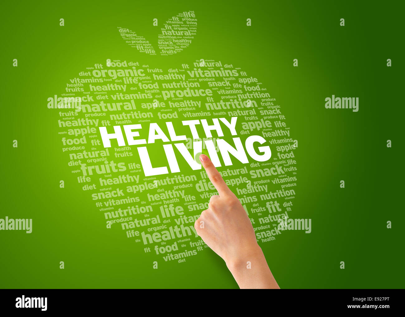 Healhty Living - Stock Image