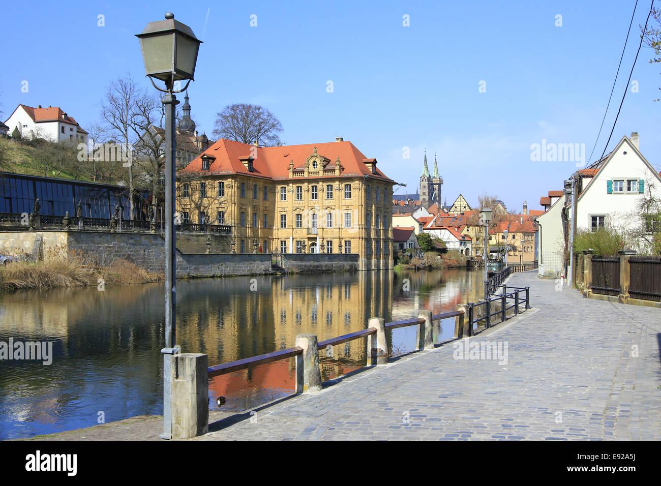 Water castle Concordia, Bamberg - Stock Image