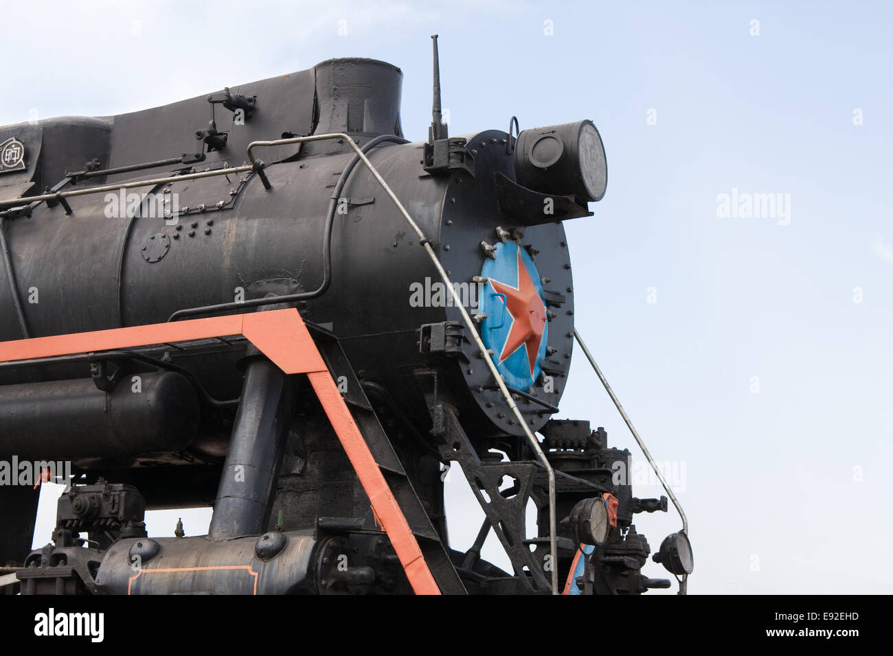 Steam locomotive - Stock Image