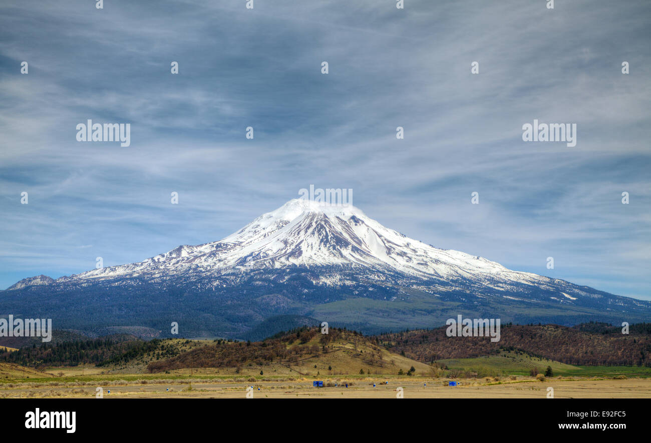 Mount Shasta, California - Stock Image