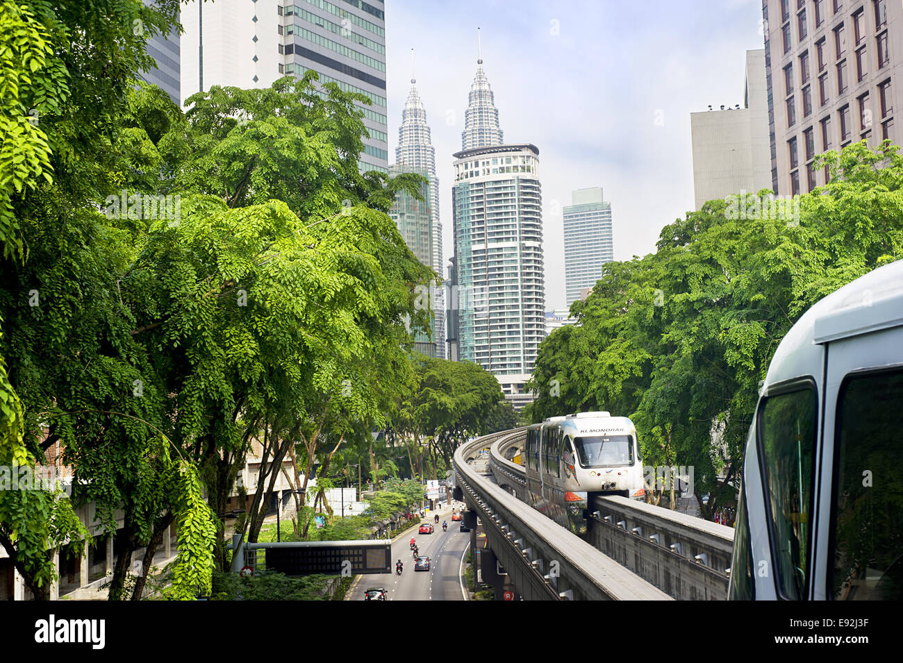 KL Monorail - Stock Image