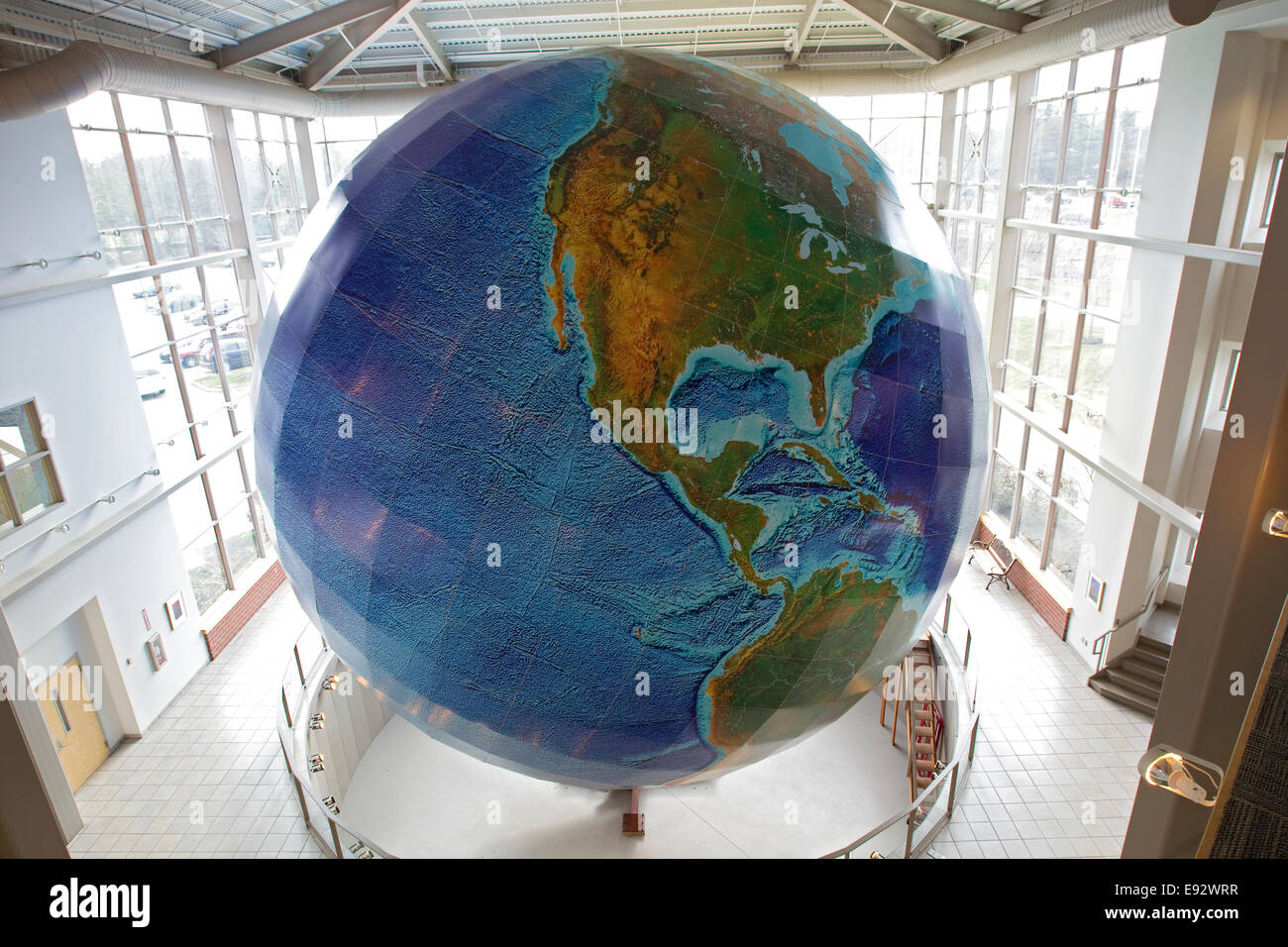 Globe eartha worlds largest revolving and rotating globe delorme globe eartha worlds largest revolving and rotating globe delorme map store yarmouth maine gumiabroncs Images