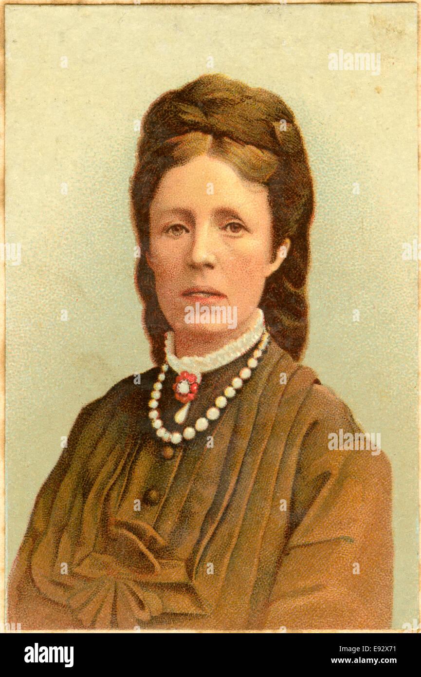Sophia of Nassau (1836-1913), Queen Consort of Sweden, Portrait, circa 1885 - Stock Image