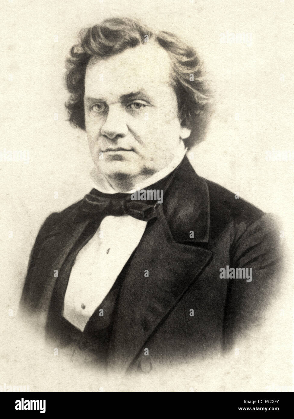 Stephen A. Douglas (1813-1861), American Politician from Illinois, USA, Portrait, 1860 - Stock Image