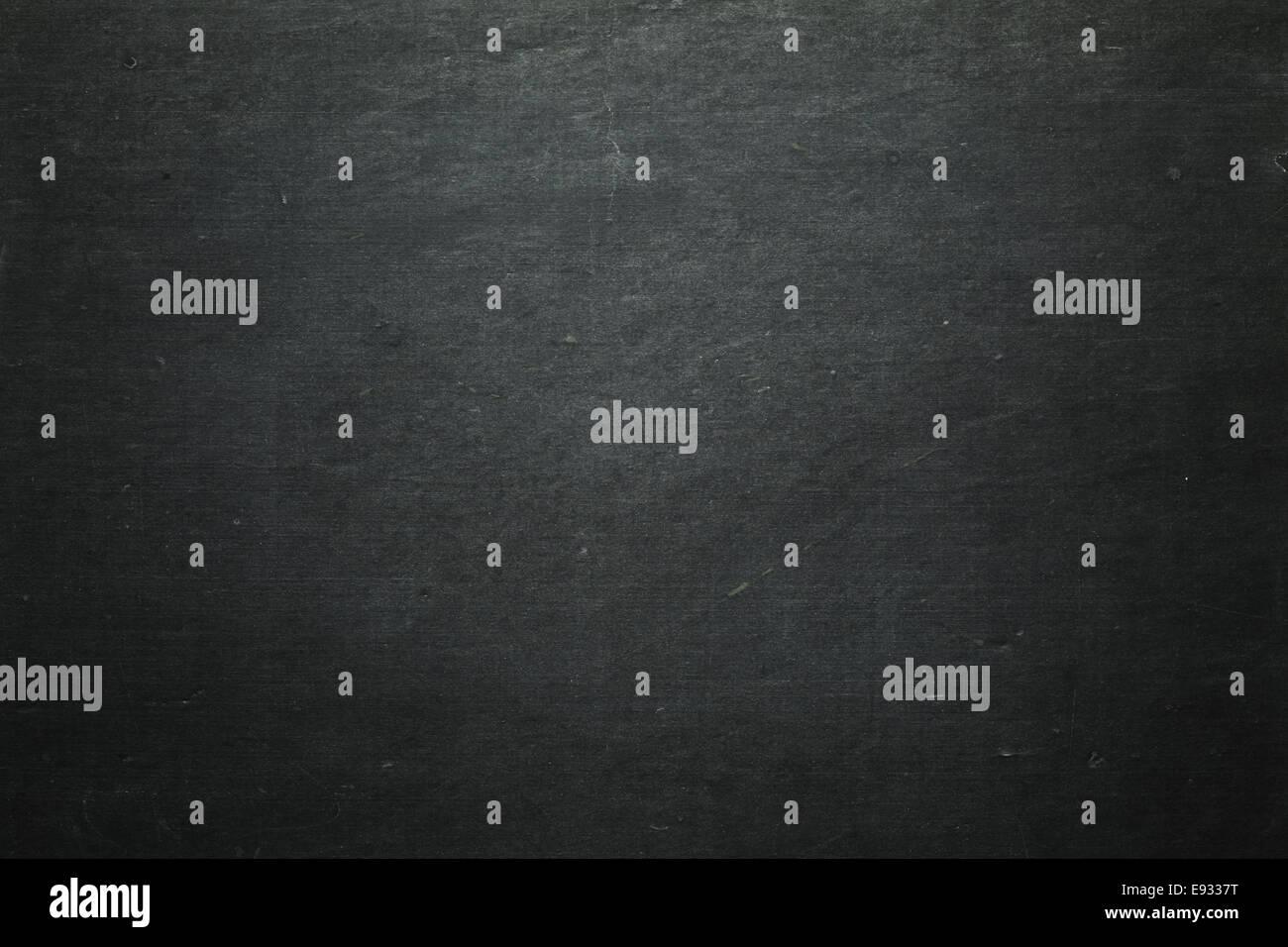 Blank chalkboard - Stock Image