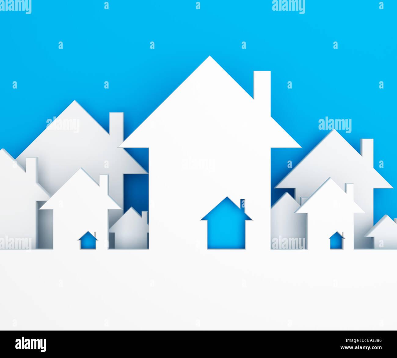 House background - Stock Image
