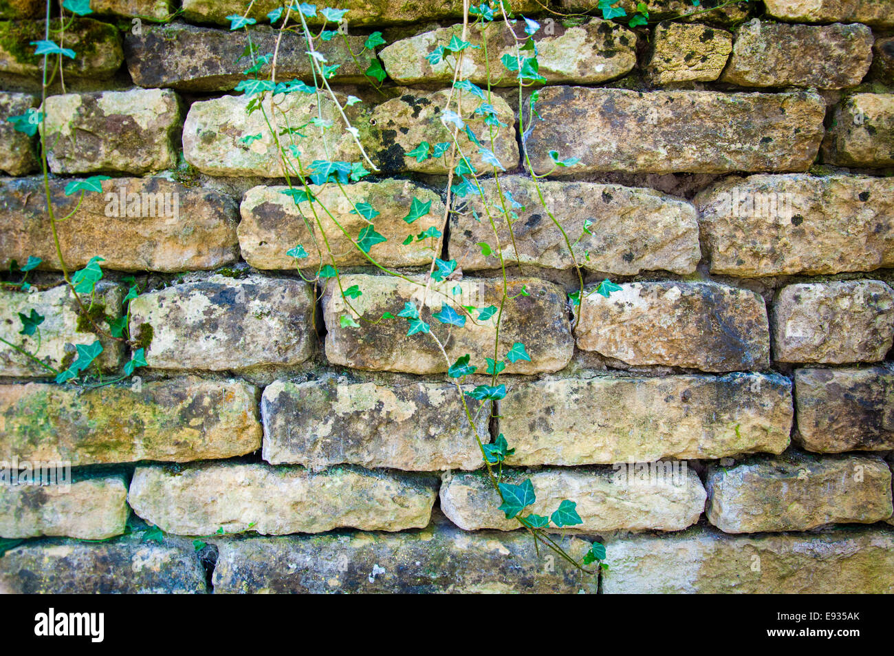 Background Texture Of English Rustic Stone Wall
