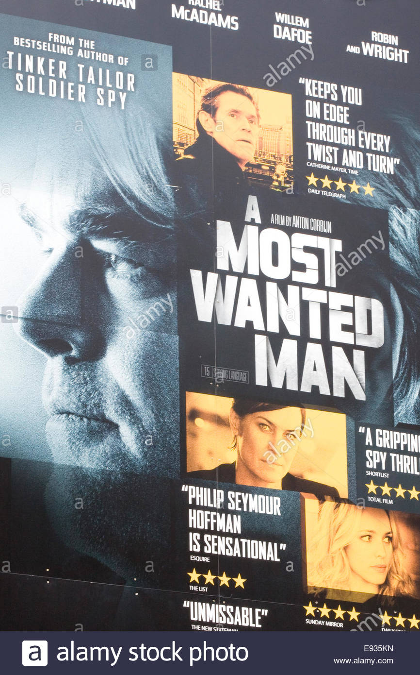 New Movie Poster Starring The Late Philip Seymour Hoffman In His Last Stock Photo Alamy