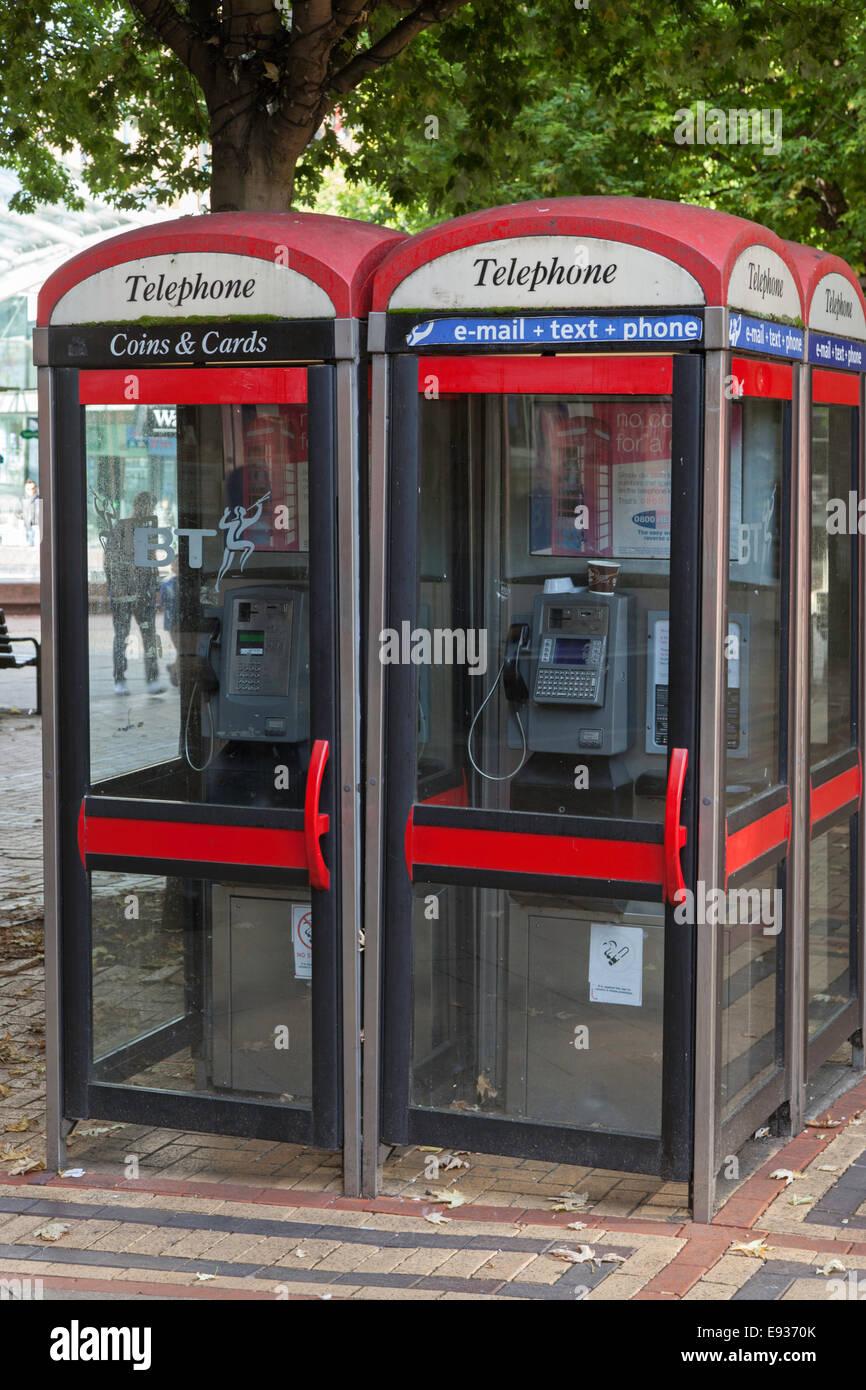KX100 telephone kiosk, England, UK - Stock Image