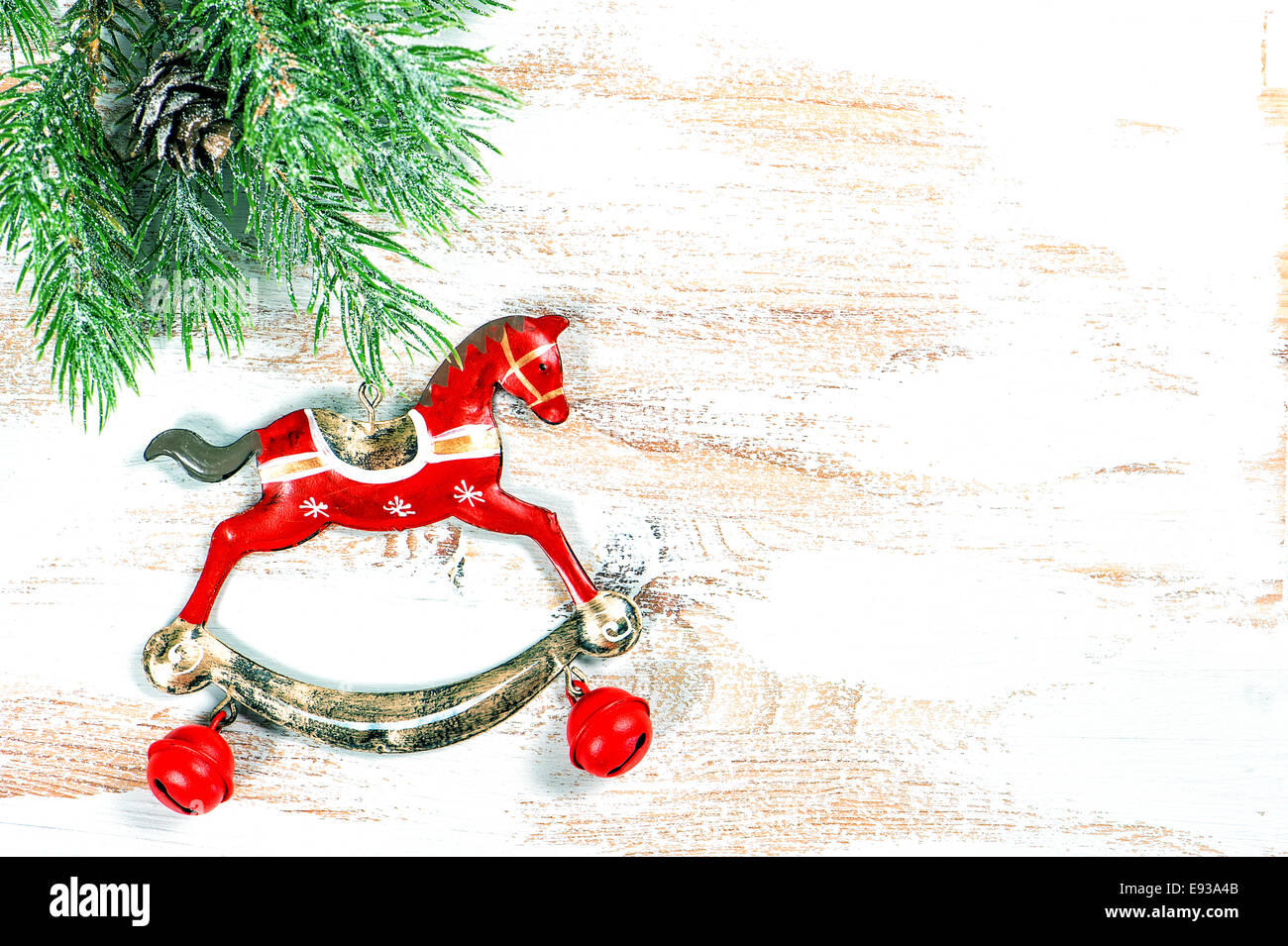 Christmas Rocking Horse High Resolution Stock Photography And Images Alamy