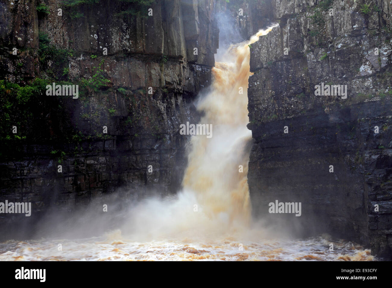 3228. High Force Waterfall, River Tees, Teesdale, Durham, UK - Stock Image