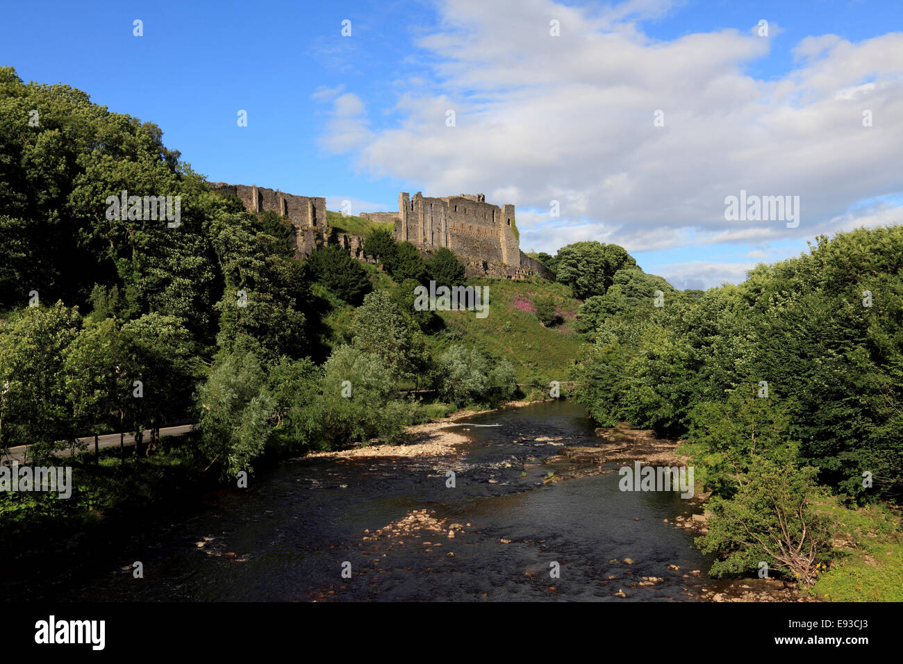 3260.The Castle, Richmond, North Yorkshire, UK Stock Photo
