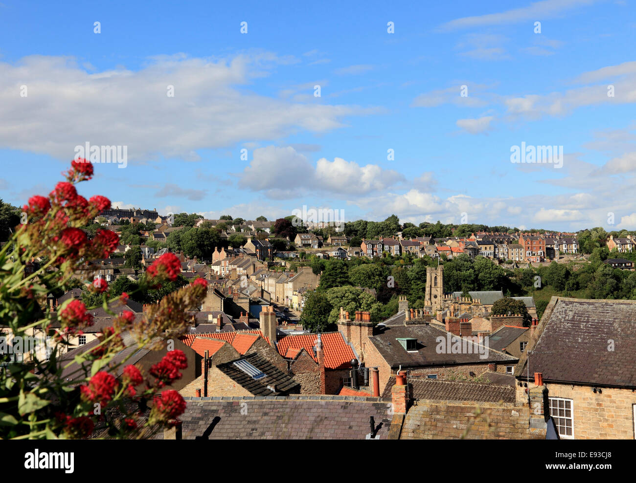 3261. Richmond, North Yorkshire, UK Stock Photo