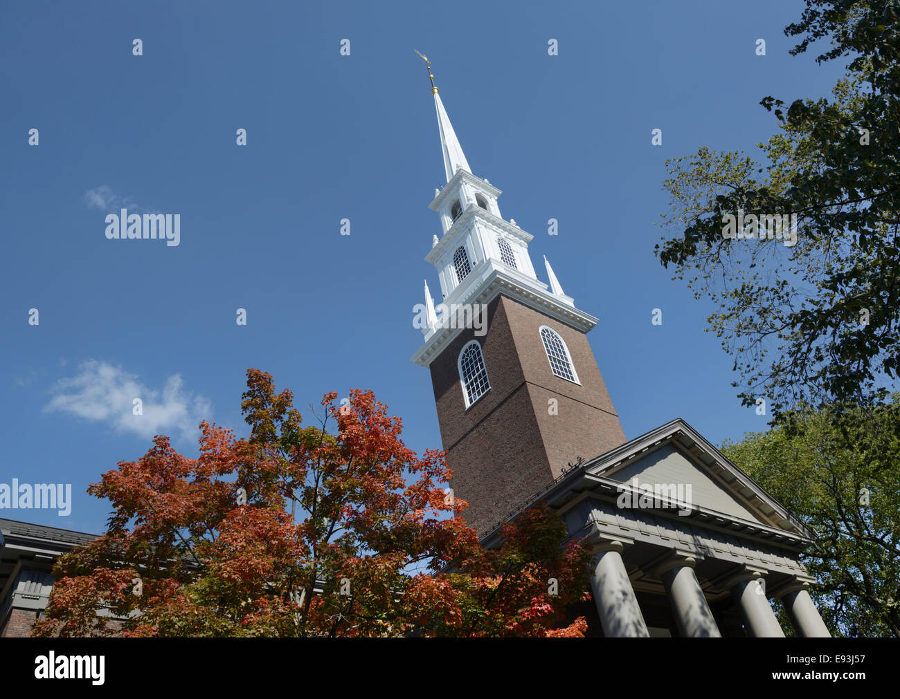 Harvard University, Memorial Church - Stock Image
